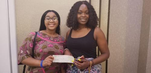 Britney Dike and Adaobi Obi (2nd Place - Philidelphia)